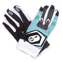 Перчатки женские Animal Heavy Weight Motor Cross Glove Black/Blue/White