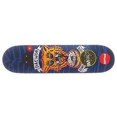 Дека для скейтборда для скейтборда Almost S5 Daewon Jail Tats Impact Plus Blue/Orange 31.6 x 8.0 (20.3 см)