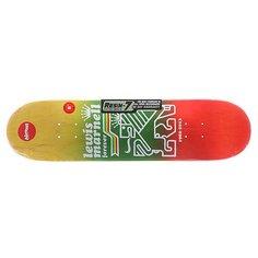 Дека для скейтборда для скейтборда Almost S5 Lewis Farewell R7 Rasta 31.6 x 8.0 (20.3 см)
