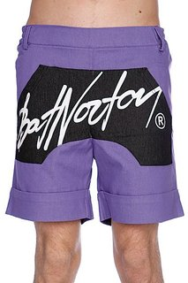 Шорты Bat Norton Unisex Basic Shorts Purple