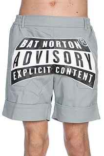 Шорты Bat Norton Unisex Advisory Grey
