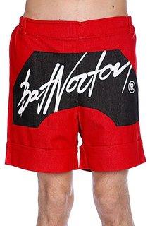 Шорты Bat Norton Unisex Basic Shorts Red