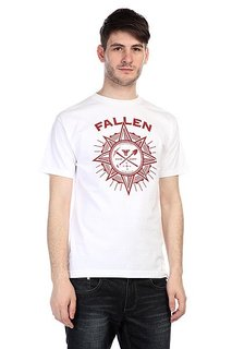 Футболка Fallen Rambler Shirt White/Red