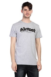 Футболка Almost Screen Works Heather Grey
