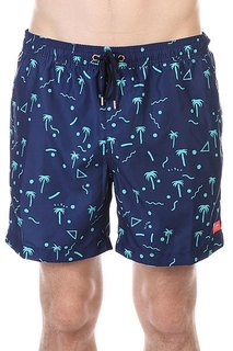 Шорты пляжные Globe Papaya Pool Short Blue