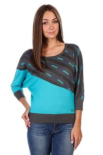 Джемпер женский Zoo York Arrow Sweater Granite Grey