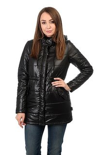 Куртка женская Zoo York Zy Puffer Parka Black