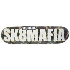 Дека для скейтборда для скейтборда Sk8mafia Og Logo 2 Camo 32.12 x 8.25 (21 см)