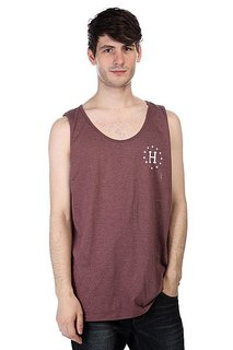 Майка Huf 12 Galaxies Tank Burgandy/Heather