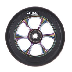 Колесо для самоката Chilli Turbo Wheel 110Mm Rainbow