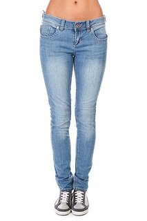 Джинсы женские Zoo York Gm Skinny Coney Blue Wash