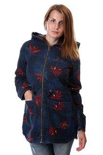 Куртка парка женская Roxy Primo Park Pr J Jckt Midnight Palm Option