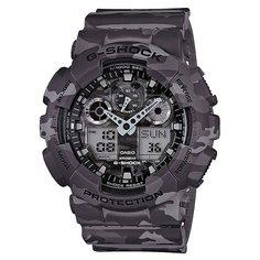Часы Casio G-Shock Ga-100cm-8a Grey Camo