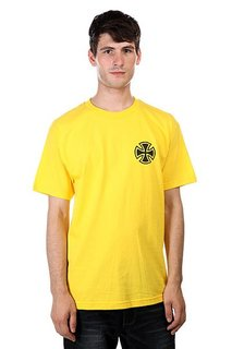 Футболка Independent Nozaka Tattoo Cross Yellow