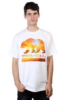 Футболка Nor Cal Sunset Bear White