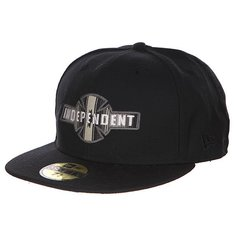 Бейсболка New Era Independent Eg/Bc Fitted Black