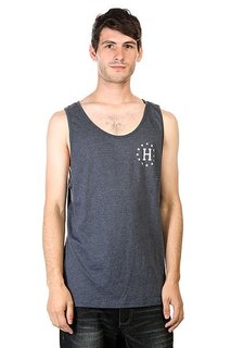 Майка Huf 12 Galaxies Tank Navy Heather