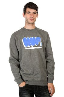 Толстовка Huf Bubbles Crew Gunmetal Heather