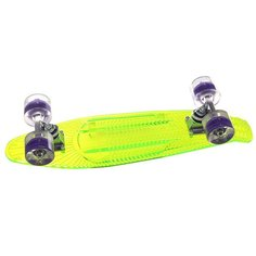 Скейт мини круизер Sunset Alien Complete Green Deck-Blacklght Wheels
