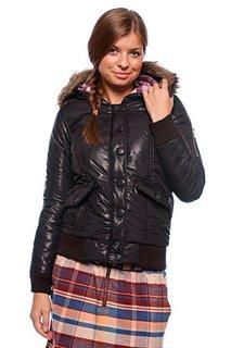 Куртка зимняя женская Zoo York Motto Snorkel Black