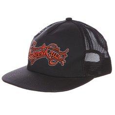 Бейсболка с сеткой Santa Cruz Signature Black