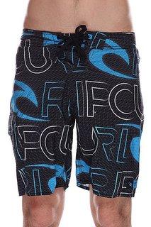 Шорты пляжные Rip Curl Realm Boardshort Black/Blue