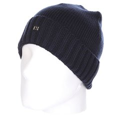 Шапка K1X Authentic Knit Beanie Navy Heather