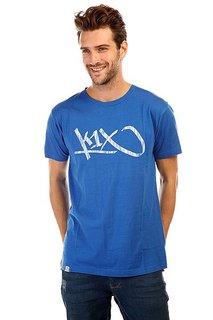 Футболка K1X Tag Tee Royal Blue/White