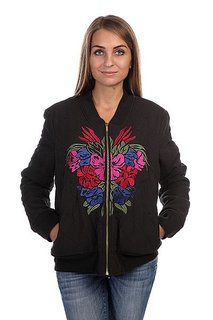 Бомбер женский Insight Azula Quilted Bomber Floyd Black