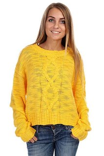 Свитер женский Insight Cut Out Jumper Saffron