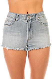 Шорты джинсовые женские Insight Spokes Short Mid Indigo Trash