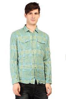 Рубашка в клетку Insight Fred Sonic Weed Green