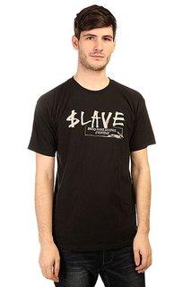 Футболка Slave Brand Name Black