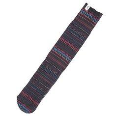 Носки сноубордические женские Roxy Ski Sock Geo Stripe Sub Prin Ensign Blue