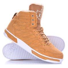 Кеды кроссовки утепленные K1X H1top Le Brown