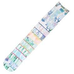 Носки сноубордические женские Roxy Ski Sock Mazzy Sub Print White