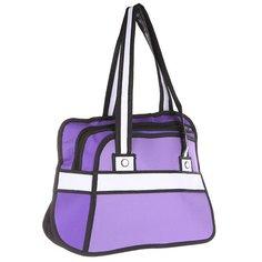 Сумка женская Jump from paper 2D Purple Style Purple/Black