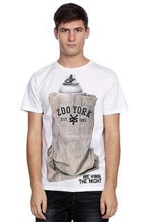 Футболка Zoo York We Own The Night White/Grey