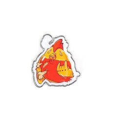 Значок Pyromaniac Rooster Orange/Red
