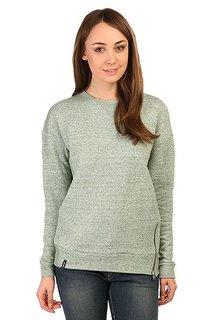 Толстовка свитшот женская Emblem Sweatshort Zip Green