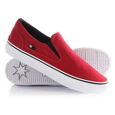 Слипоны DC Trase Slip-on TX Red
