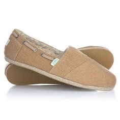 Эспадрильи Paez Original Raw Navy Essentials Camel-0034