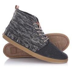 Кеды кроссовки высокие женские Reef Walled Premium Heathered Black