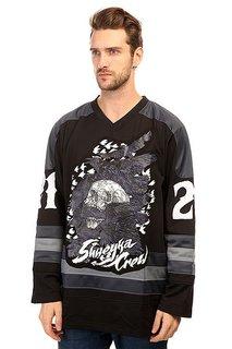 Толстовка сноубордическая Shweyka Hockey Jersey Grey/Black
