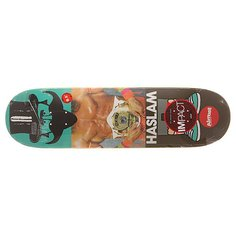 Дека для скейтборда для скейтборда Almost S6 Impact Light Haslam Remix Dude 32 x 8.5 (21.6 см)