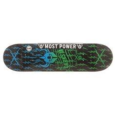 Дека для скейтборда для скейтборда Darkstar S6 Rhm Axis Green Fade 31.8 x 8.125 (20.6 см)