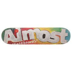 Дека для скейтборда для скейтборда Almost S6 Hyb Art School Tea 31.1 x 7.5 (19.1 см)