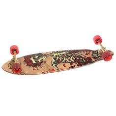 Скейт круизер Dusters Grateful Dead Bertha Longboard Brown 8.75 x 35 (89 см)