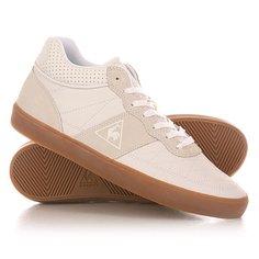 Кеды кроссовки высокие Le Coq Sportif Troca Mid Lea Gum Optical White