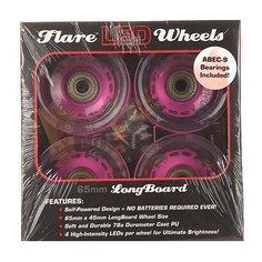 Колеса для скейтборда для лонгборда Sunset Long Board Wheel With Abec9 Purple 78A 65 mm